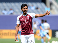 Dennis Castillo, MLS: New York City FC vs. Colorado Rapids