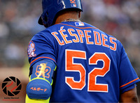 Yoenis Cespedes, MLB: New York Mets vs. St. Louis Cardinals