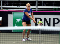 Fed Cup practice, Shelby Rogers