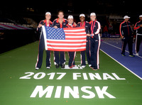 2017 Fed Cup Final: USA vs. Belarus, Shelby Rogers, Coco Vandeweghe, Alison Riske and Sloane Stephens