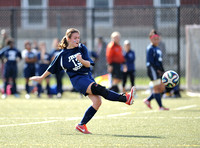 Girls varsity soccer PSAL semifinals: Campus Magnet vs. Julia Richman.