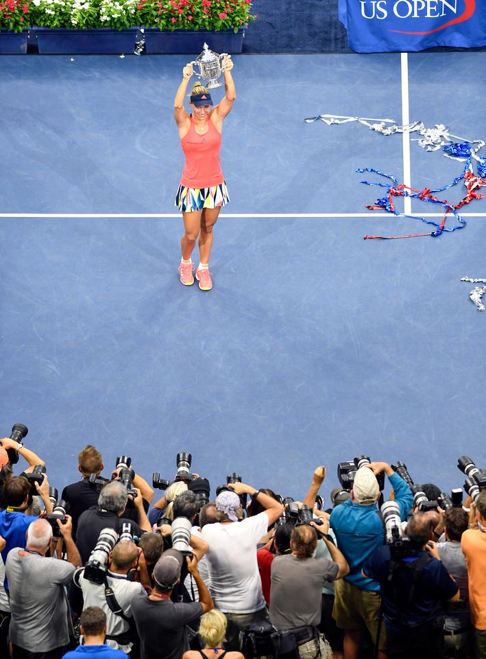 Angelique Kerber, 2016 US Open