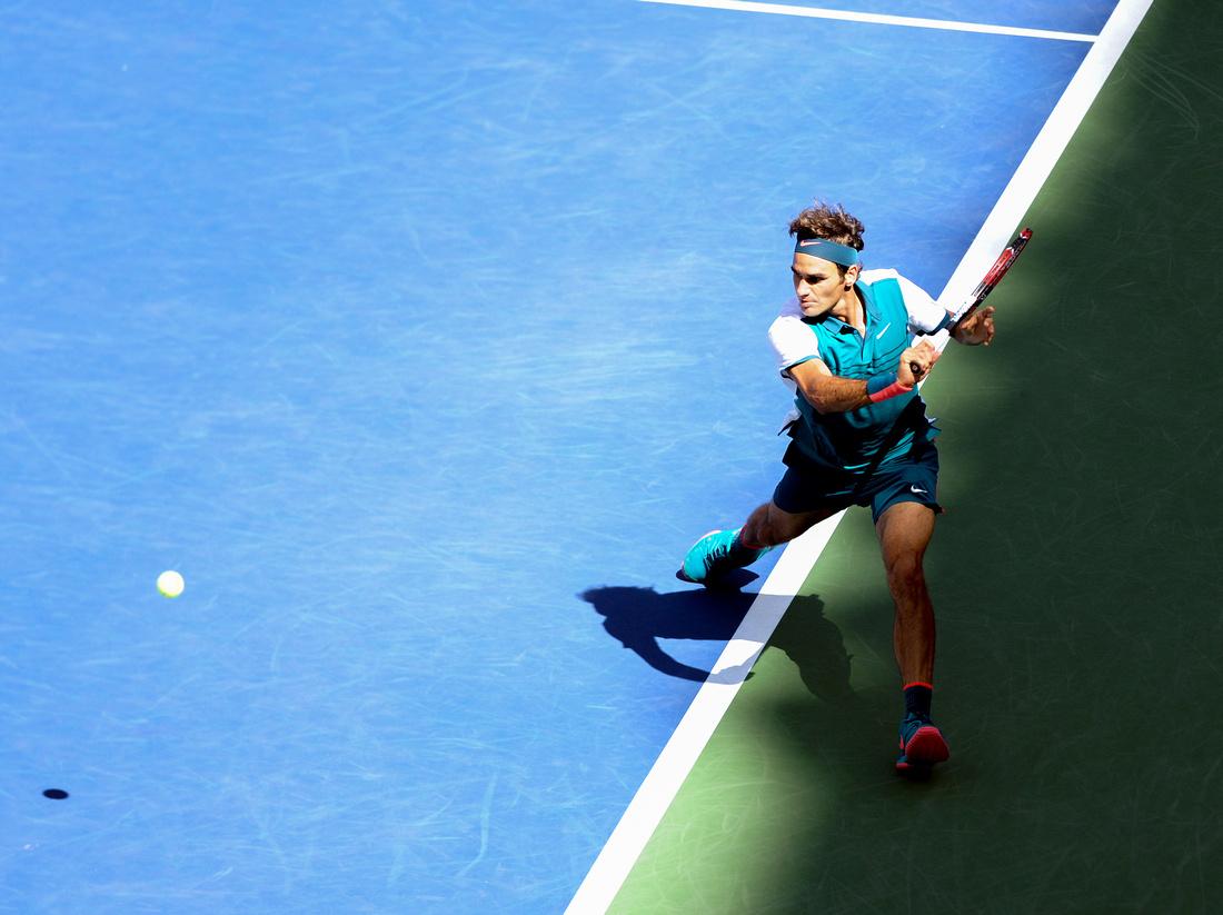 Roger Federer, 2015 US Open Day 6
