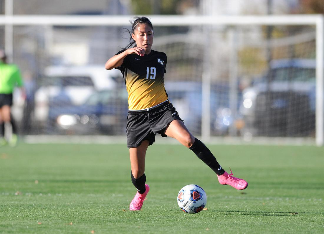 NCAA DII Women's Soccer: Adelphi vs. Bridgeport, Knights Field