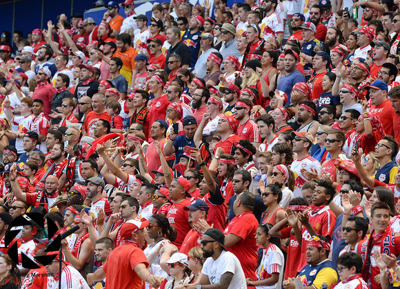 Fans, MLS: New York Red Bulls vs. New York City FC