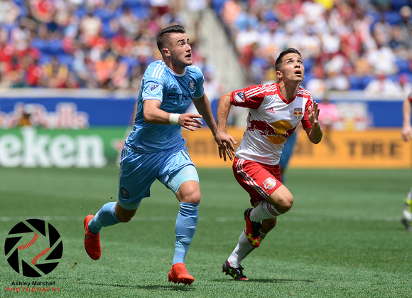 Jack Harrison, Connor Lade, MLS: New York Red Bulls vs. New York City FC