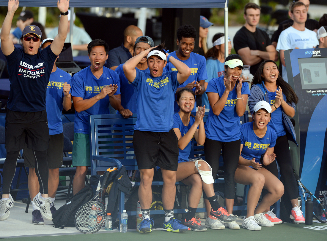 2017 Tennis On Campus National Championship, University of California, Irvine
