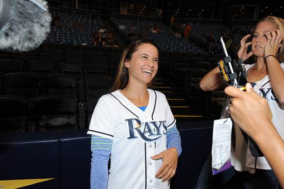 Team USA Fed Cup Tampa Bay Rays