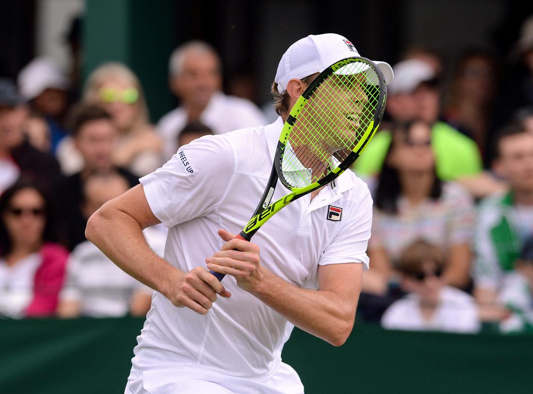 Wimbledon 2017 Day 1, Sam Querrey