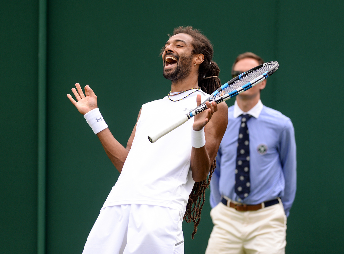 Wimbledon 2017 Day 1, Dustin Brown