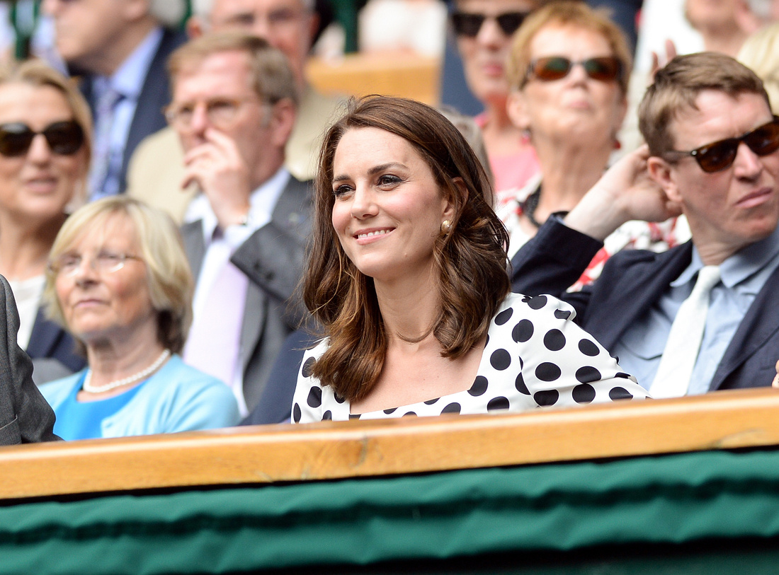 Wimbledon 2017 Day 1, Dutchess of Cambridge
