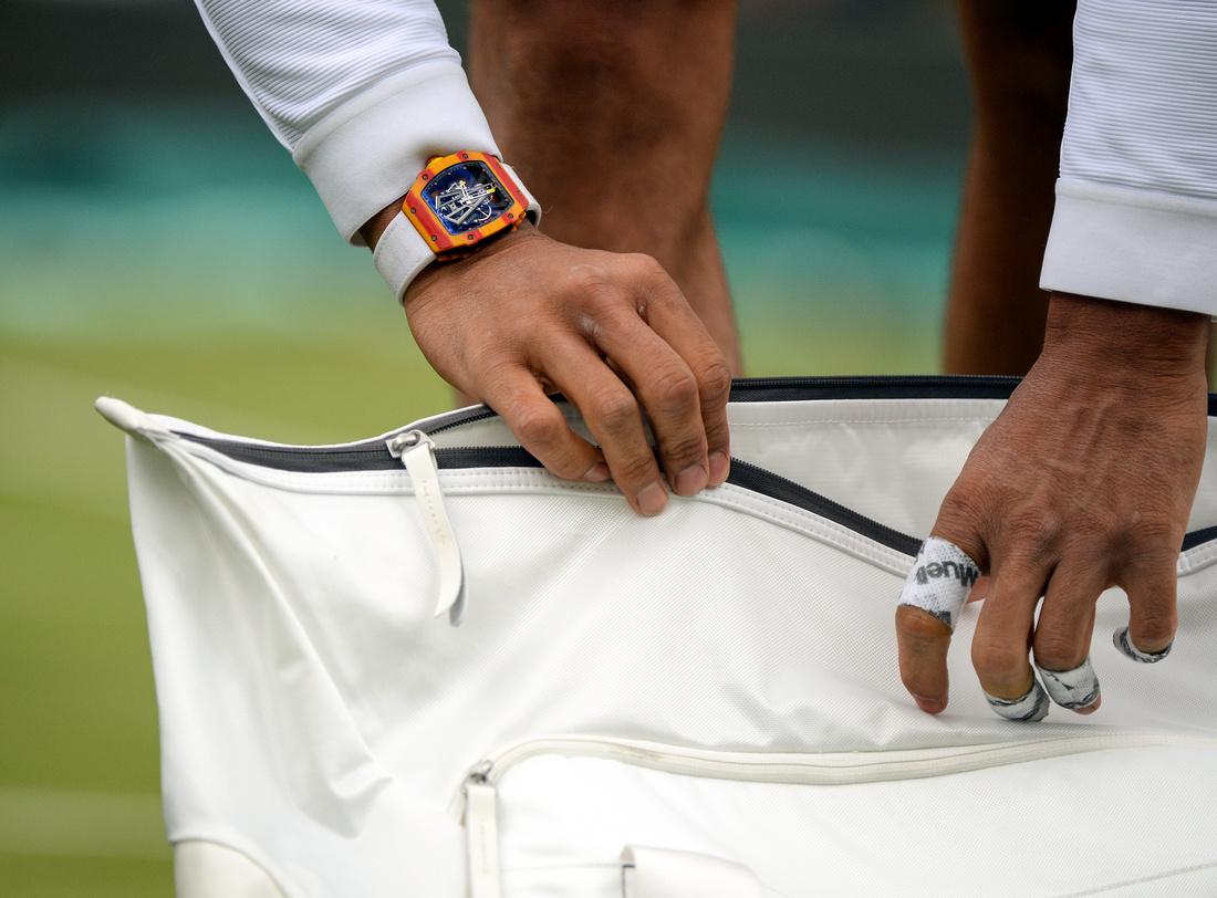Wimbledon 2017 Day 1, Rafael Nadal