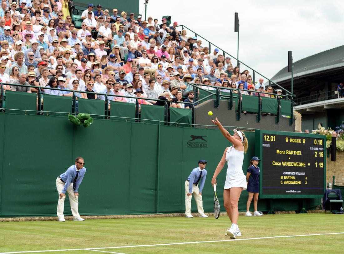 Wimbledon 2017 Day 2, Coco Vandeweghe