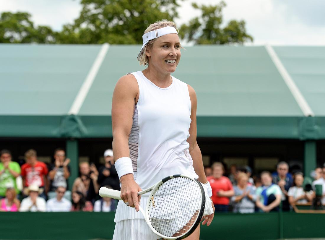 Wimbledon 2017 Day 2, Bethanie Mattek-Sands
