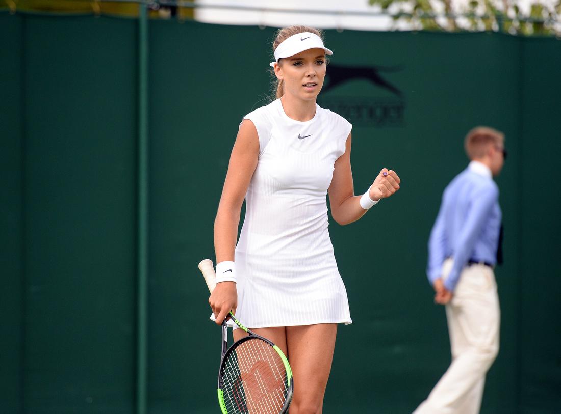 Wimbledon 2017 Day 2, Katie Boulter