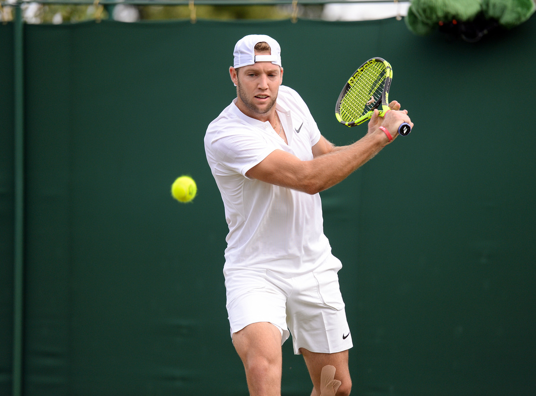Wimbledon 2017 Day 2, Jack Sock