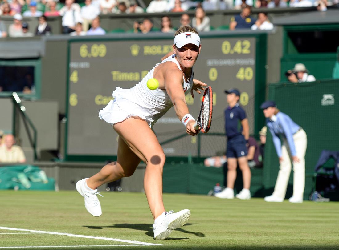 Wimbledon 2017 Day 2, Timea Babos