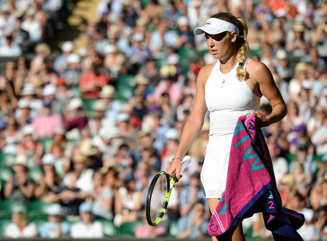 Wimbledon 2017 Day 2, Caroline Wozniacki