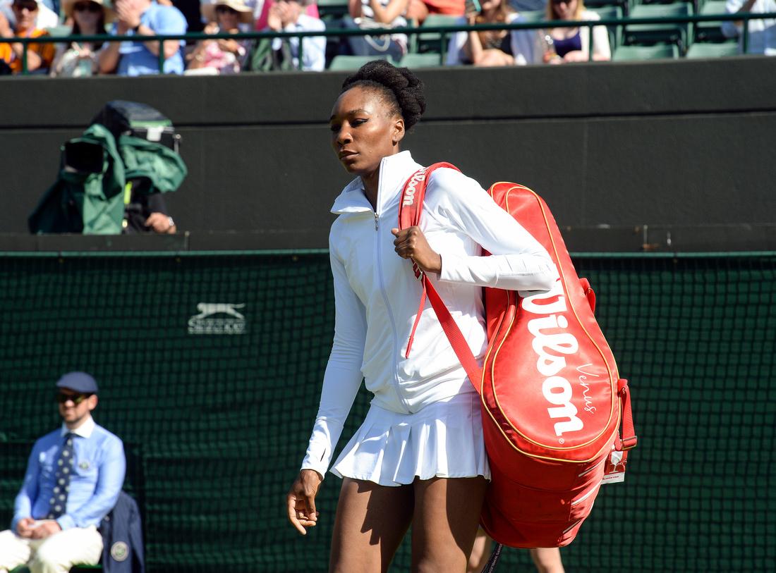 Wimbledon 2017 Day 3, Venus Williams