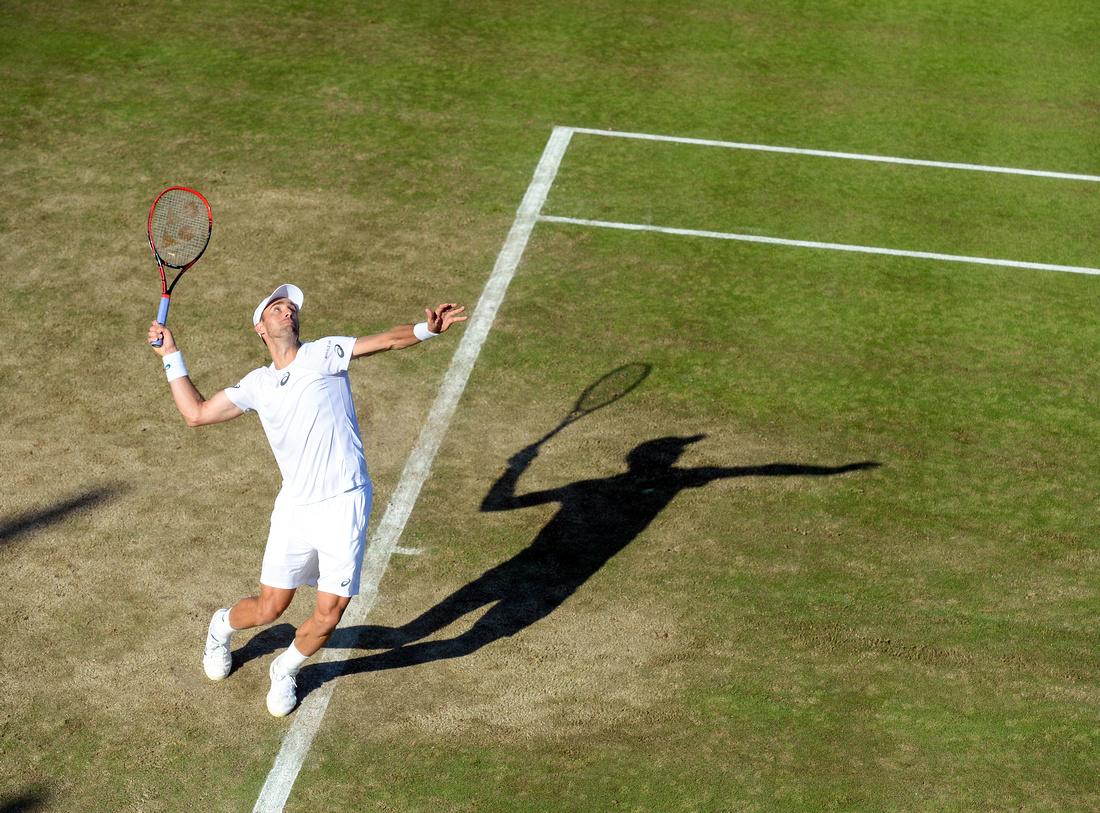 Wimbledon 2017 Day 3, Steve Johnson