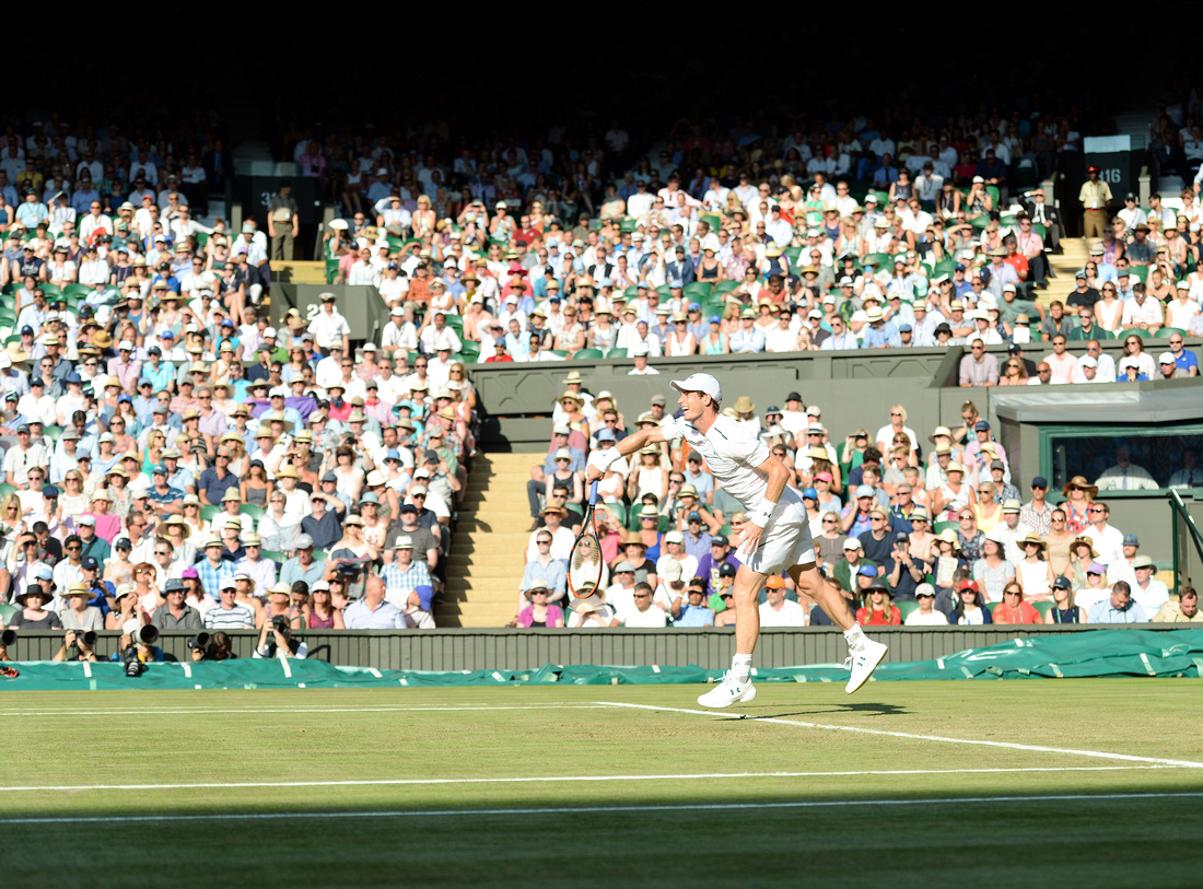Wimbledon 2017 Day 3, Andy Murray