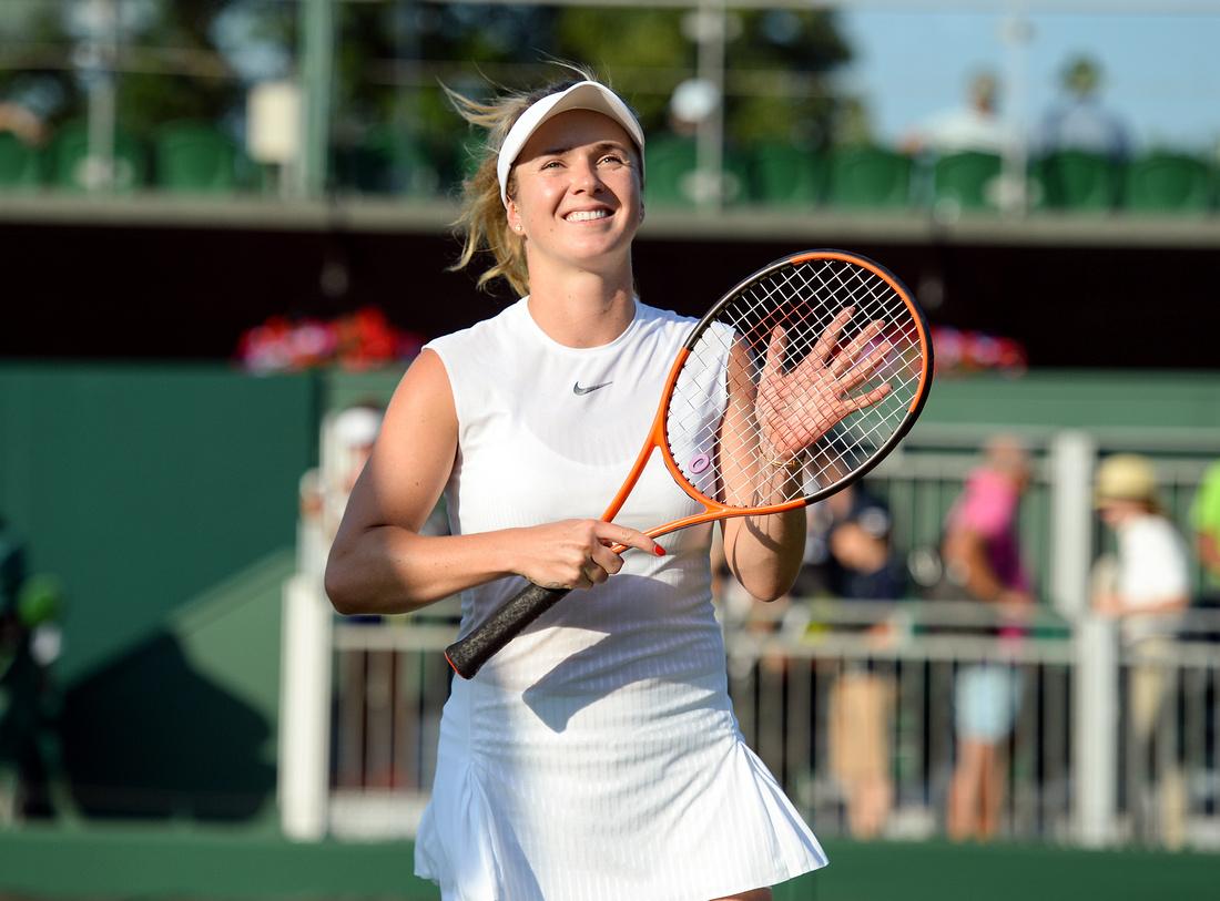 Wimbledon 2017 Day 3, Elina Svitolina