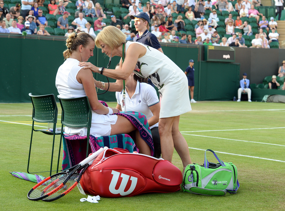 Wimbledon 2017 Day 3, Petra Kvitova