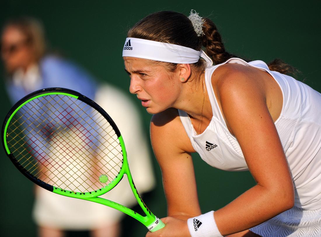 Wimbledon 2017 Day 3, Jelena Ostapenko