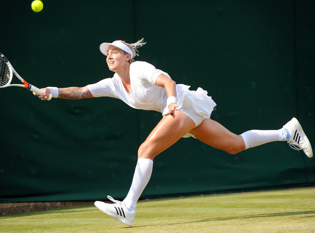Wimbledon 2017 Day 4, Bethanie Mattek-Sands