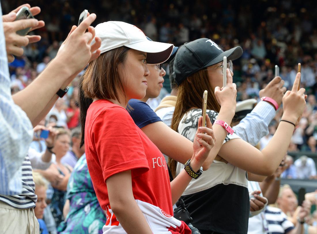 Wimbledon 2017 Day 4, Grounds