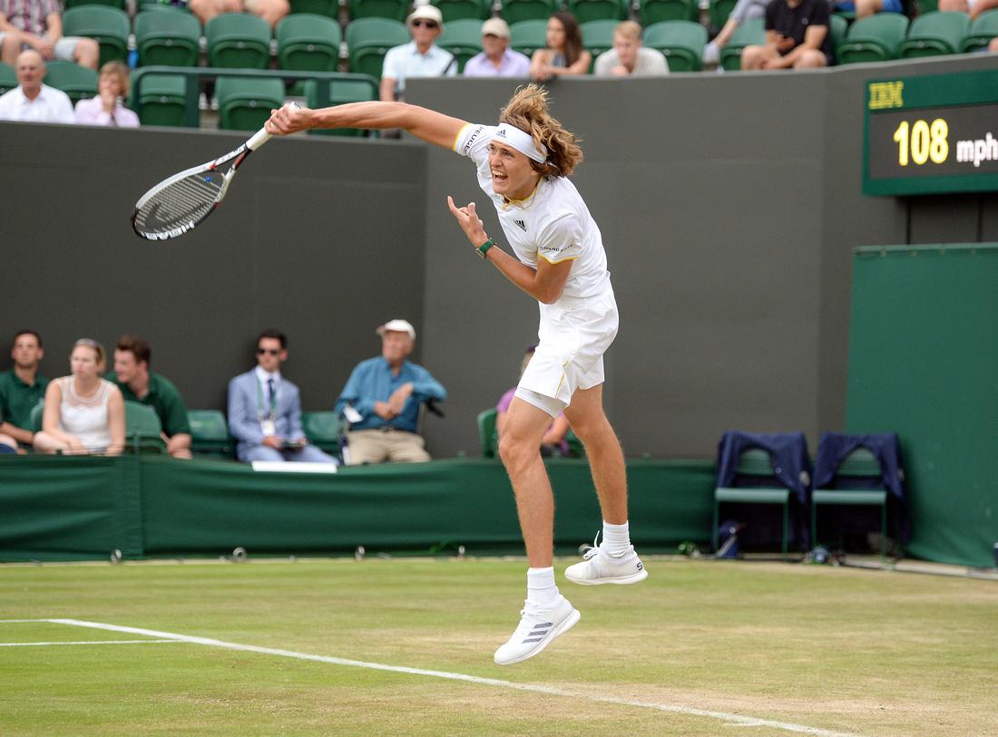 Wimbledon 2017 Day 4, Alexander Zverev