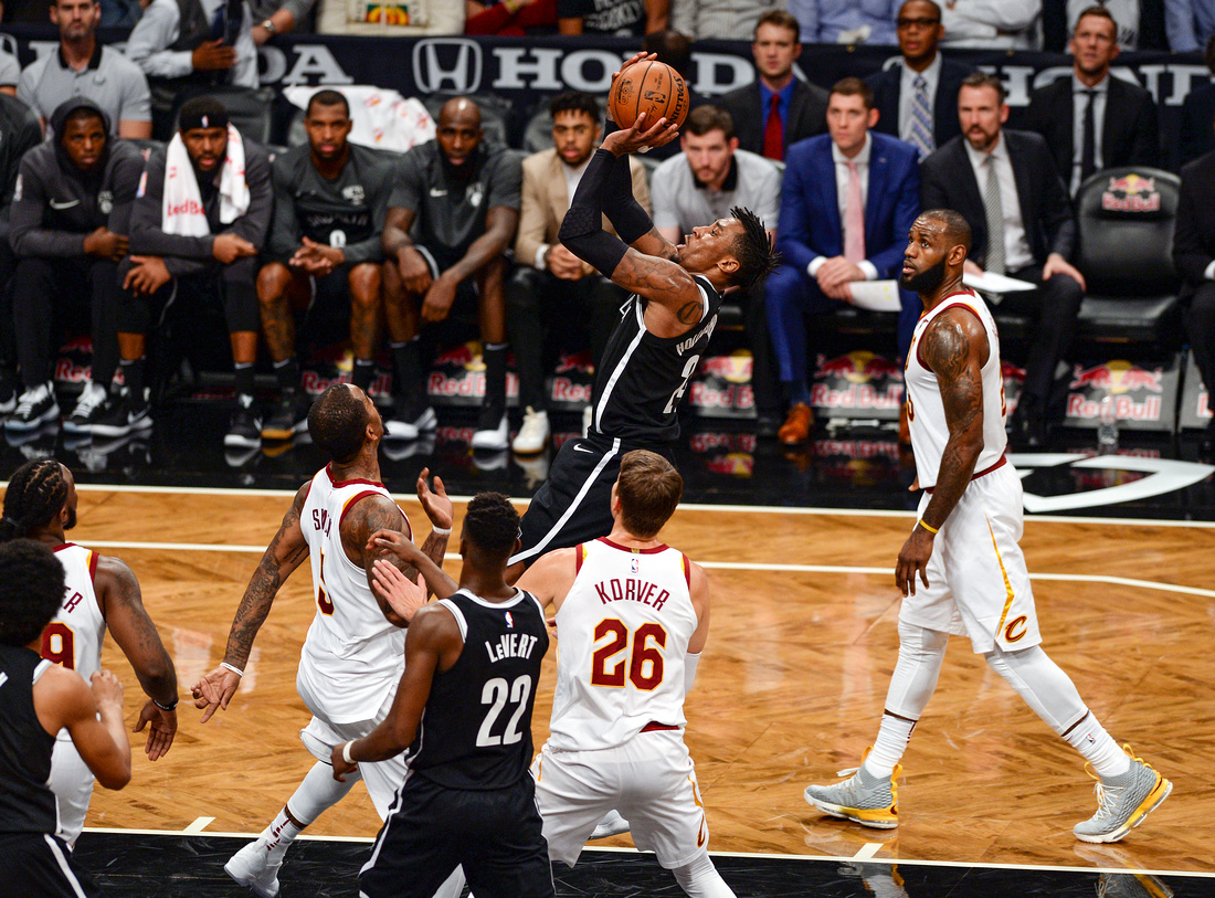 NBA: Brooklyn Nets vs. Cleveland Cavaliers, Brooklyn Nets small forward Rondae Hollis-Jefferson (24)
