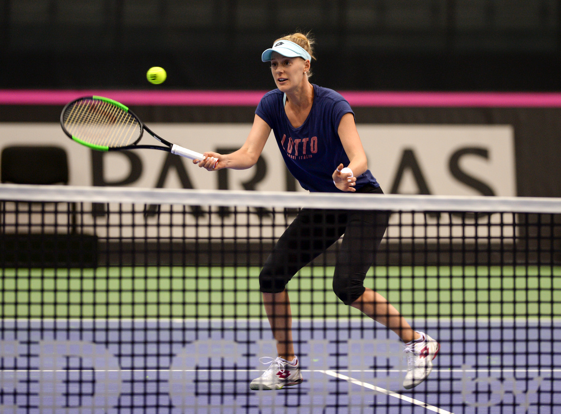 2017 Fed Cup Final: USA vs. Belarus, Shelby Rogers