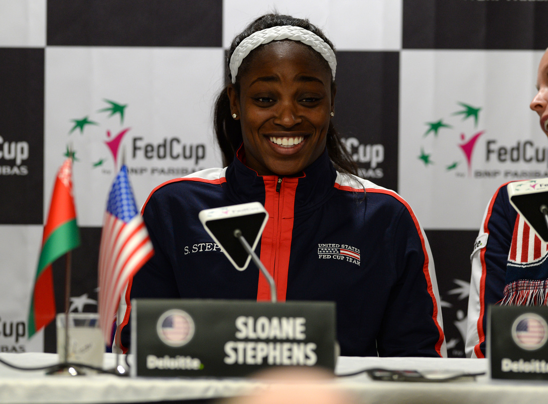 2017 Fed Cup Final: USA vs. Belarus, Sloane Stephens