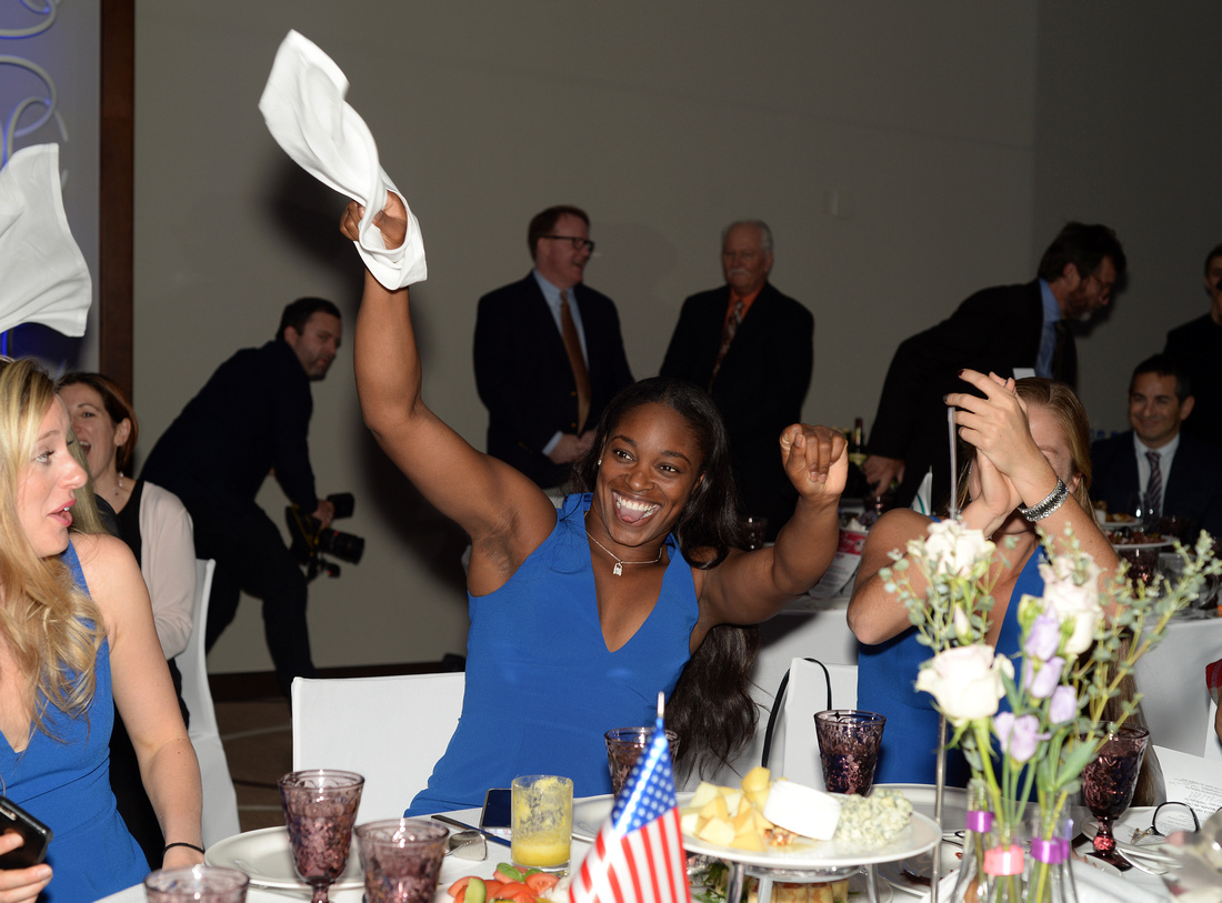 2017 Fed Cup Final: USA vs. Belarus, Official team dinner, Sloane Stephens