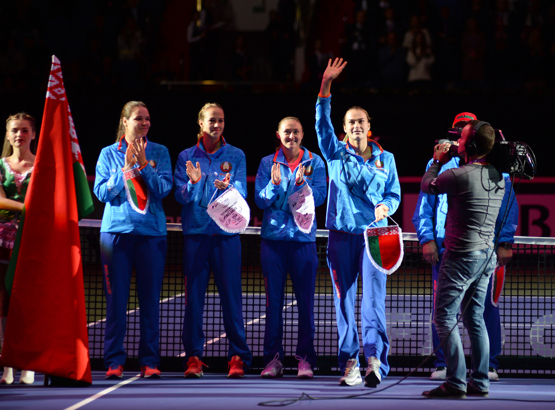 2017 Fed Cup Final: USA vs. Belarus, Aryna Sabalenka