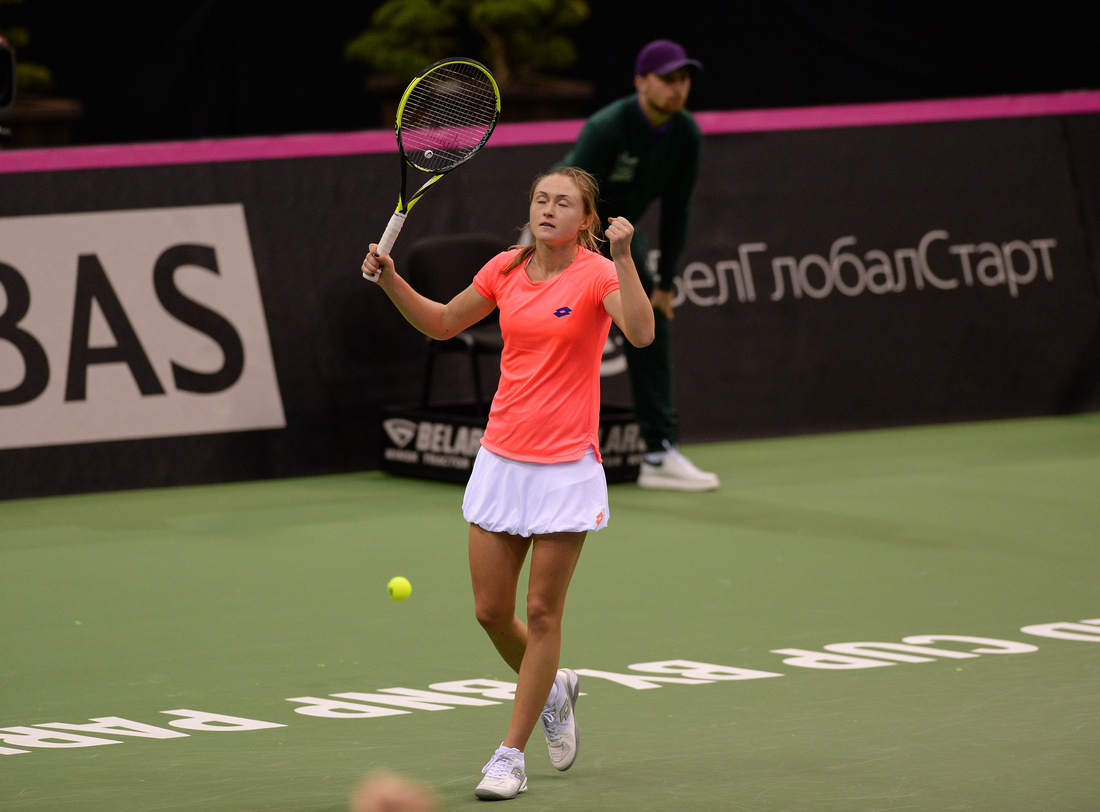 2017 Fed Cup Final: USA vs. Belarus, Aliaksandra Sasnovich