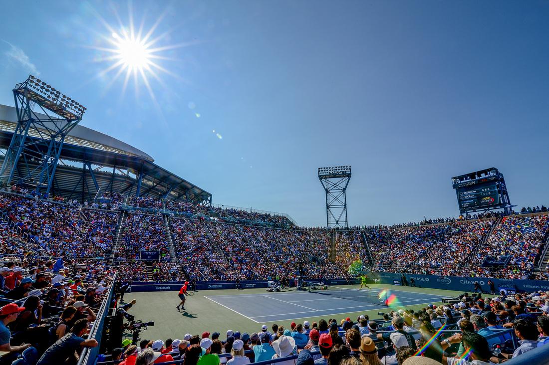Jo-Wilfried Tsonga, Jack Sock, Armstrong, 2016 US Open