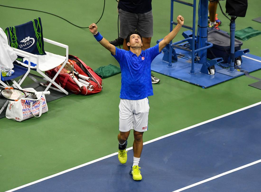 Kei Nishikori, 2016 US Open
