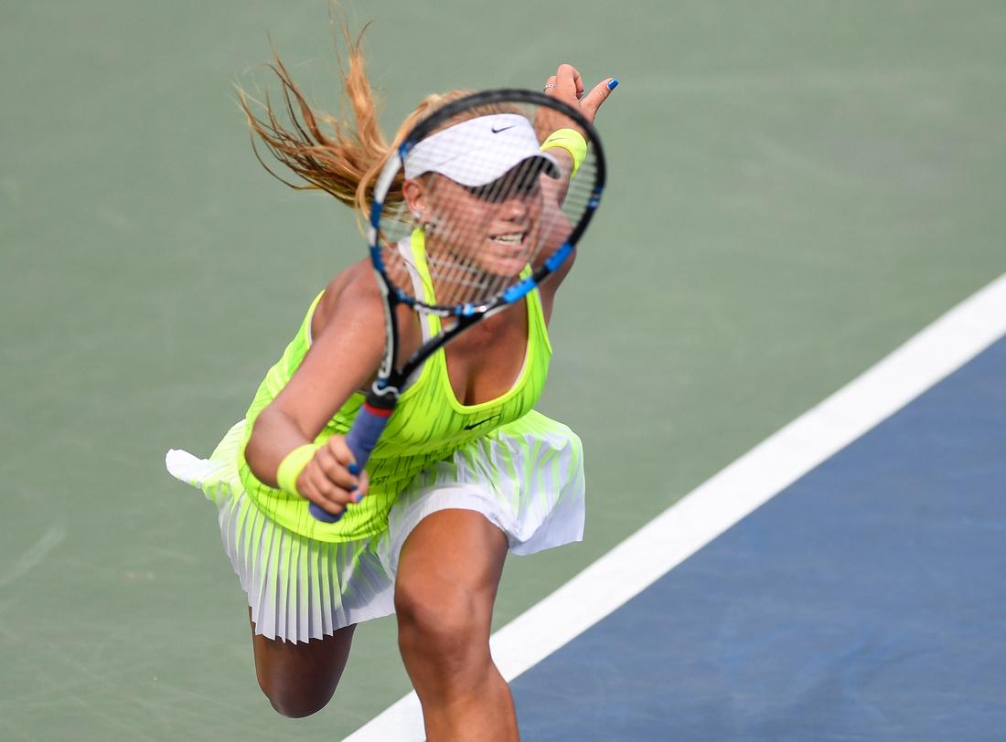 Sofia Kenin, 2016 US Open