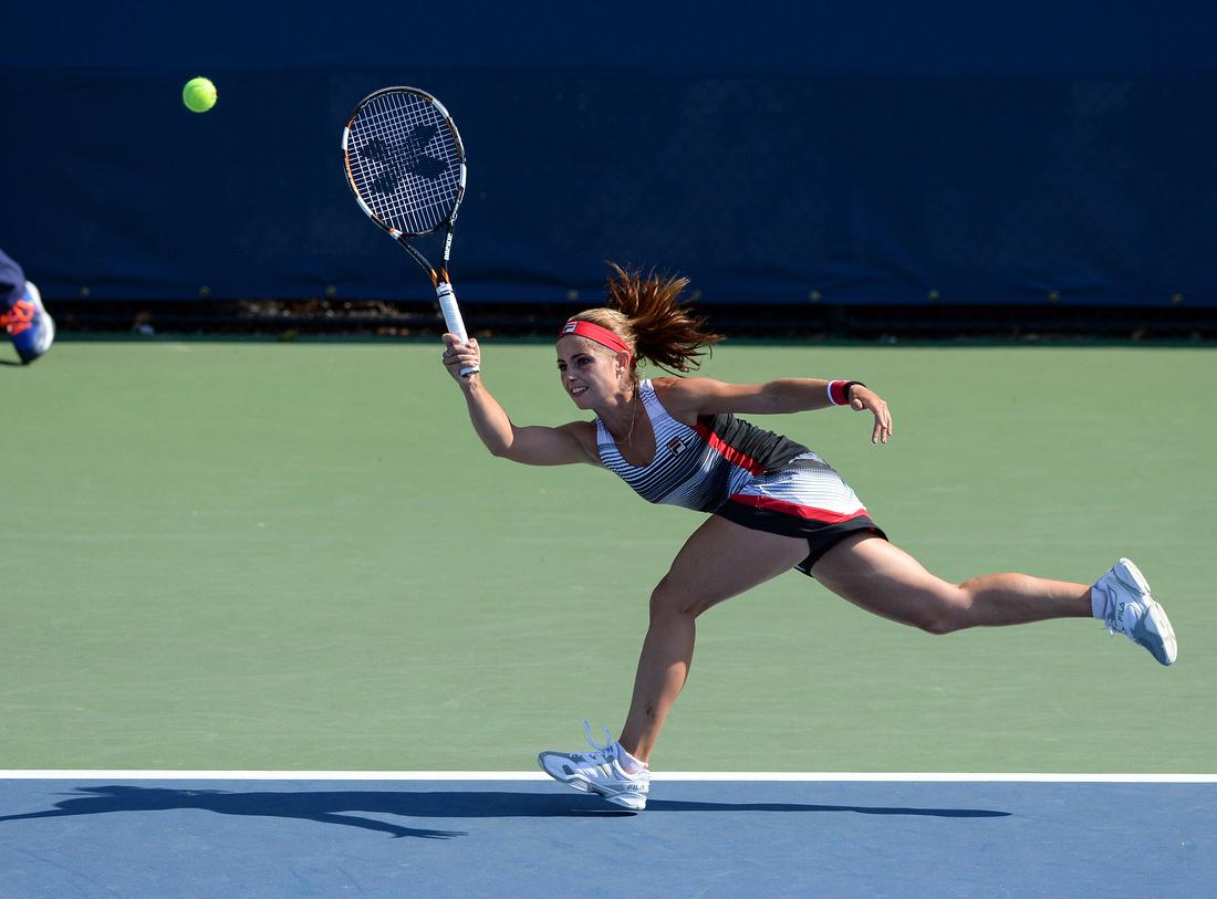 Polina Leykina, 2016 US Open