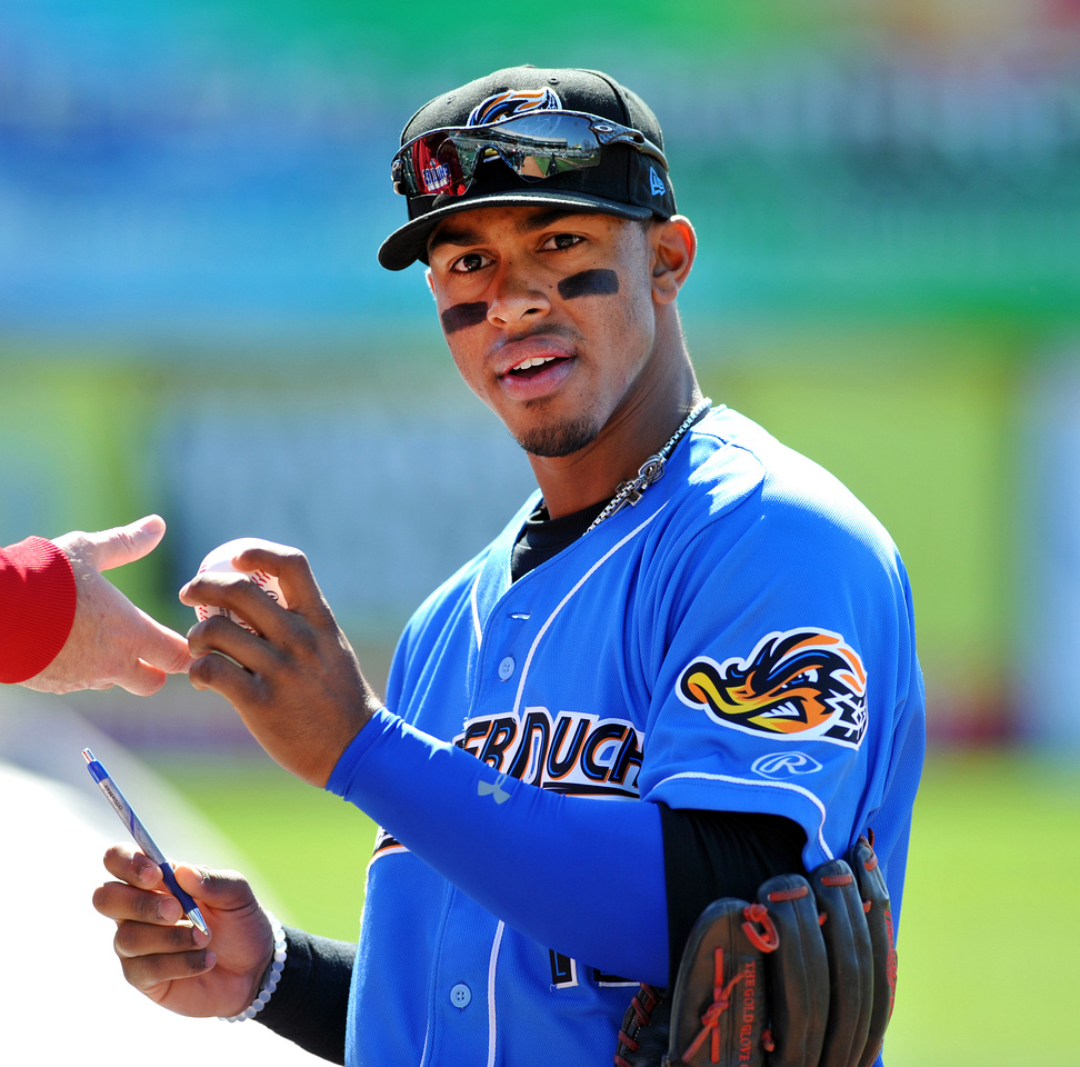 Francisco Lindor_1187.JPG, Akron Rubber Ducks vs. Trenton Thunder