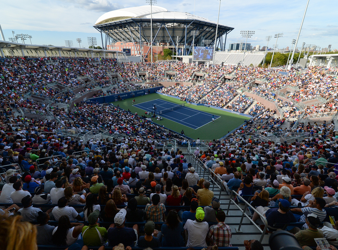 New Grandstand stadium, 2016 US Open