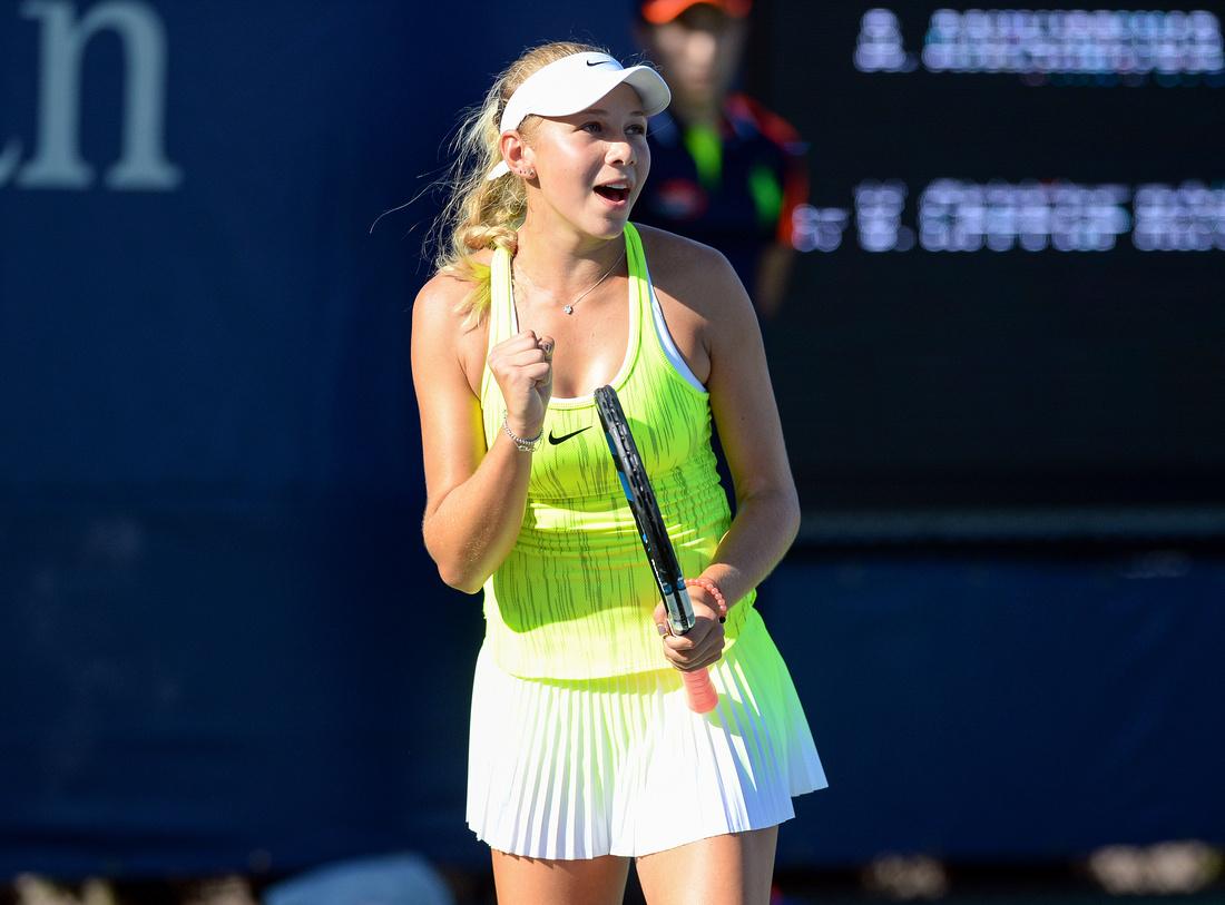 Amanda Anisimova, 2016 US Open
