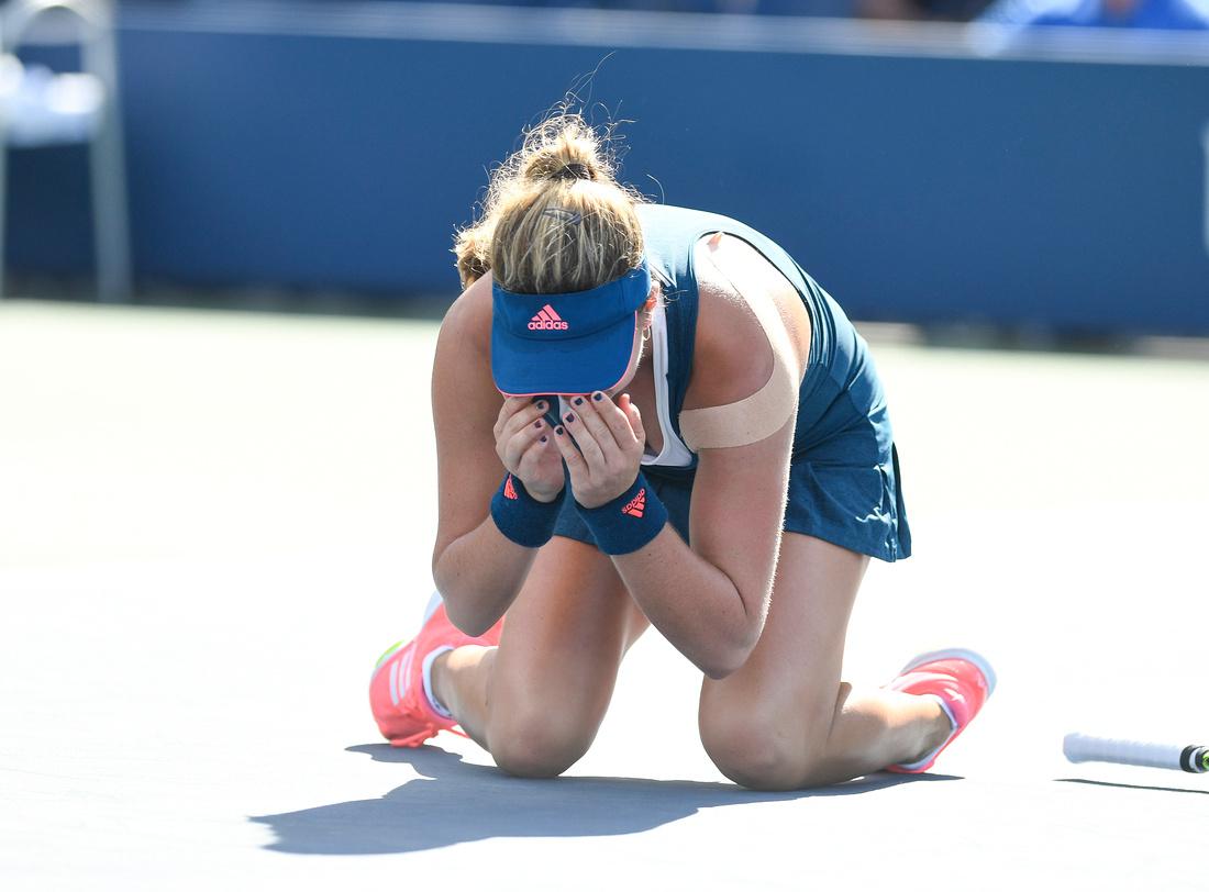Kayla Day, 2016 US Open