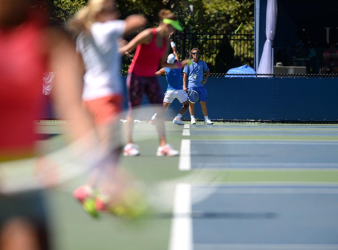 Practice, 2016 US Open