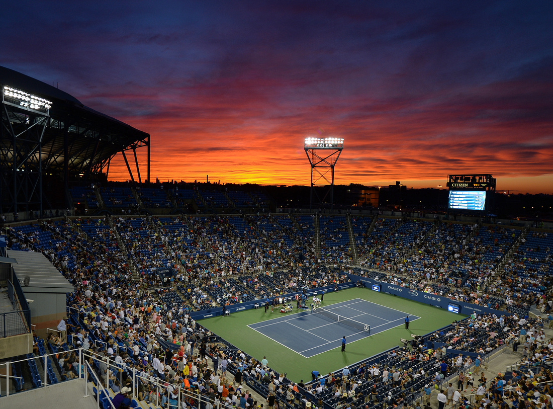 Day 5 sunset, 2016 US Open