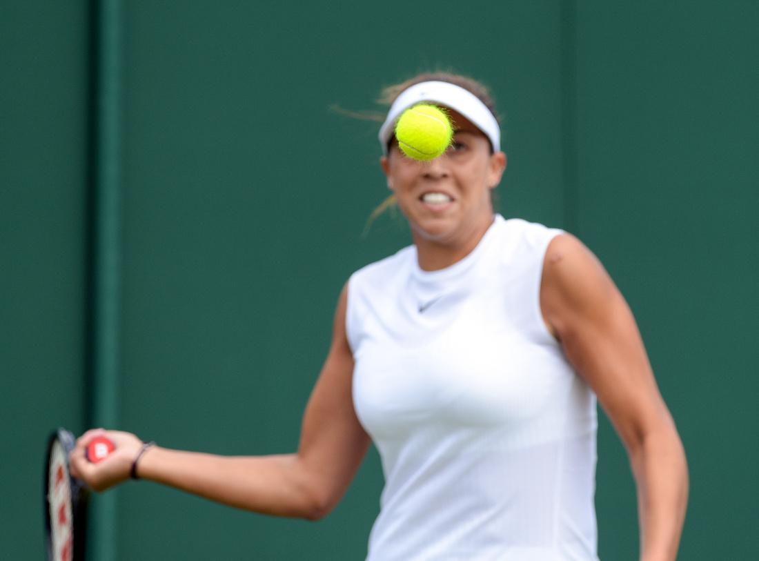 Wimbledon 2017 Day 1, Madison Keys