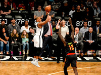 NBA: Brooklyn Nets vs. Atlanta Hawks, Randy Foye