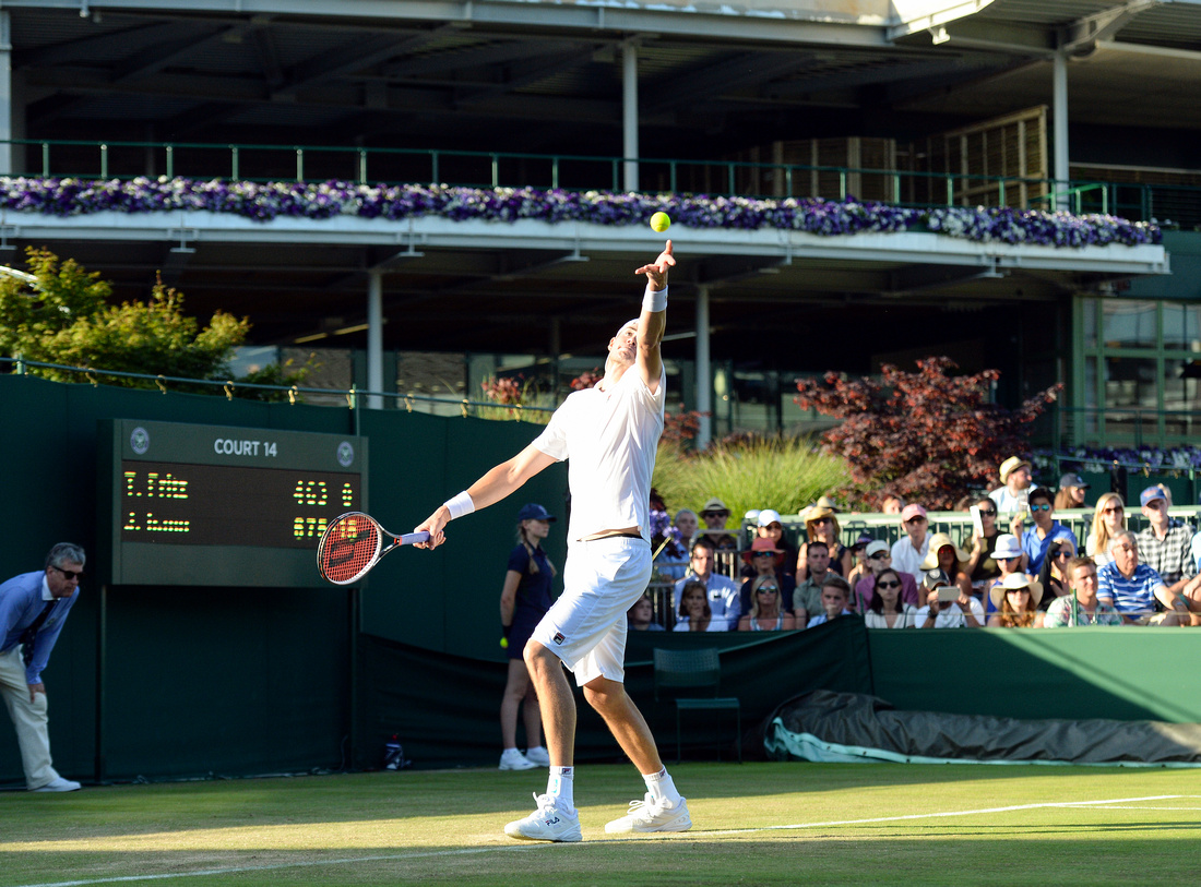 Wimbledon 2017 Day 2, John Isner